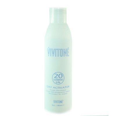 Vivitone Oxy Activator 20 Volume Cream Developer 6.oz/ 180 Ml. by Vivitone