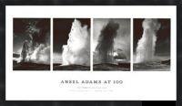 Old Faithful by Ansel Adams Framed Poster Print
