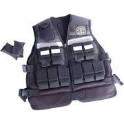 Gold's Gym 20-lb. Adjustable Conditioning Vest (Golds Gym Exercise Equipment)