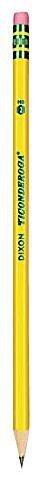 Dixon Ticonderoga Pre-Sharpened Pencil, #2, Yellow Barrel-12 ct, 2 pk by Dixon