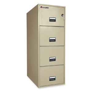 4-Drawer-Fireproof-Key-Lock-File-Safe