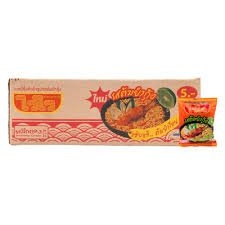 - Wai Wai Instant Noodles Shrimp Tom Yum Flavor 50 G. Pack 30