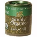 Simply Organic Mini Dill Weed 6x .14 Oz