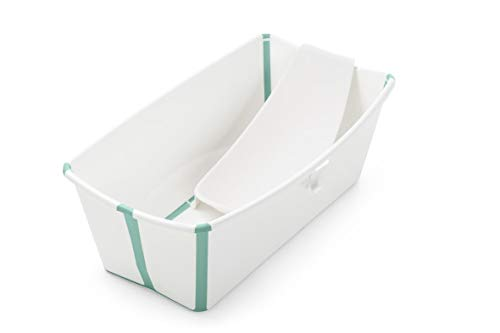 Stokke Flexi Bath Bundle, White Aqua