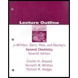 General Chemistry with Qualitative Analysis, Whitten, 0534408621