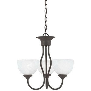 Thomas Lighting Sl8014-63 Tahoe Three-Light Chandelier, Bronze (Bronze Tahoe Transitional Wall)