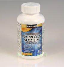 Cos13 Kirkland Signature Extra Strength Naproxen Sodium 220Mg Last 12 Hours Pain Fever Reliever   400 Caplets