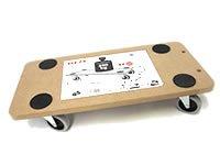 Super Transportroller Möbelroller Rollbrett Hund NEU: Amazon.de: Baumarkt RA03