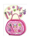 BEST SELLER - Girls makeup sets Sparkling Beauty, Girl's REAL lipglosses, Charms and More! Butterfly Lipgloss Makeup Set - Girl's Makeup Kit or Set