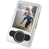 PDair Aluminum Metal Hard Case for Microsoft Zune II 2 (80GB/120GB) (Silver), Protective Armor Case