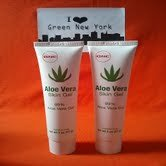 TWIN PACK Aloe Vera Skin Gel 2 oz. 99% Aloe Vera Gel by GNC Paraben Free NO Animal Testing