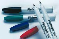 (133794 Part# 133794 - Pen Marker Lab Use Fine Point Cold/Damp Surface Black 10/Bx By Fisher Scientific Co.)