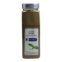 McCormick Ground Basil - 12 oz. container, 6 per case by McCormick