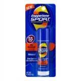 (Coppertone Sport Stick SPF 55 Sunscreen-0.6 oz, 2 pack)