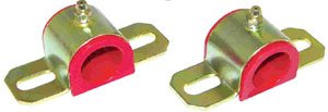 Prothane 19-1186 Red 30 mm Universal Greasable Sway Bar Bushing fits B Style Bracket