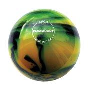 EPCO-Duckpin-Bowling-Ball-Paramount-Glow-Yellow-Black-Single-Ball