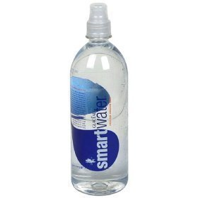 (Glaceau Smartwater Electrolyte Enhanced Water with Sports Cap - Case of 24)