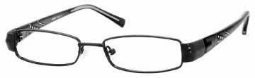 Seventeen 5329 Black Designer Reading Glass Frames , Demo Lens