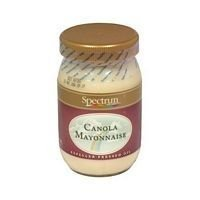 SPECTRUM NATURALS MAYONNAISE CANOLA, 16 OZ by Spectrum