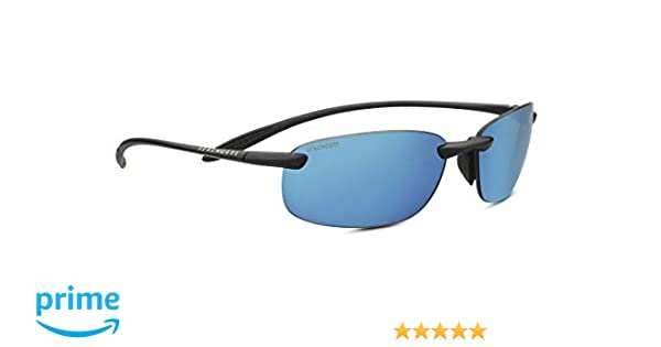 035b9ff87e5 Amazon.com   Serengeti Sport Nylon Nuvola Satin Black Phd Polarized 555nm  Blue Sunglasses   Sports   Outdoors