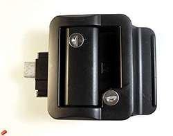 - Travel Trailer Lock, Black