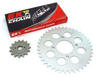 Chain & Sprockets Kit - Compatible with Honda CB750A CB750K - 1977-1978