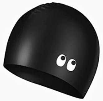 Gxswlaaa Swim Cap 1PC Long Hair Waterproof Practical Ear Protection Swimming Cap Silicone Cap Swim Pool Hat for Women Girls Female