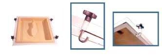 Supreme Dual Vacuum Forming Pan Press 17'' X 18''