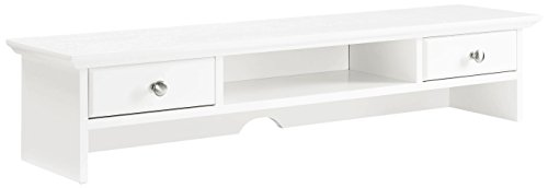Crosley Furniture CF6510-WH Campbell Hutch - White by Crosley Furniture