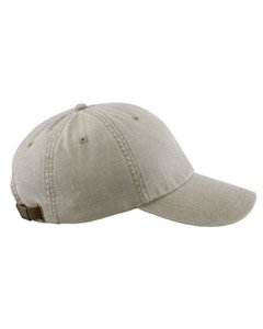 Adams Cotton Twill Classic Optimum Cap - Stone