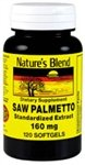 Saw Palmetto 160 mg 120 Sgels