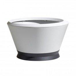 Vasque Ikone IK2 - Blanc cérusé - 76x44.8cm 105L - EDA Plastiques ...