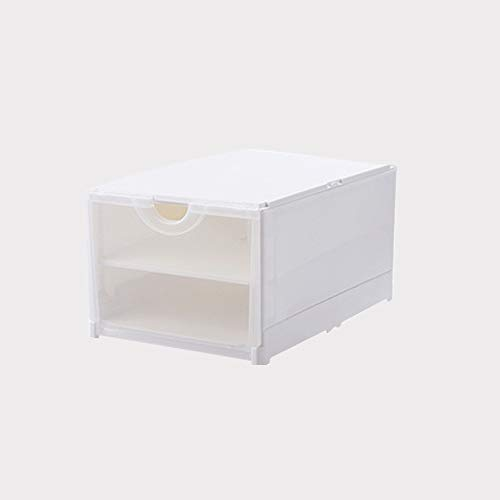 (Daytime owl Moisture-Proof Thick Double Door Plastic Shoe Box )