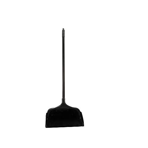 Rubbermaid Commercial 640-2531-BLA RCP2531BLA Lobby Pro Upright Dust Pan, Black ()