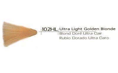 Vivitone Cream Creative Hair Color, 102HL Ultra Light Gol...