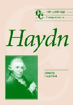 The Cambridge Companion to Haydn (Cambridge Companions to Music) by Brand: Cambridge University Press