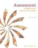Assessment: In Special and Inclusive Education 11th Edition by Salvia, John, Ysseldyke, James, Bolt, Sara [Paperback]