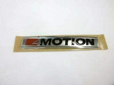 Genuine Rear Trunk 4 Motion Inscription Badge Emblem 3G0853675TMGM