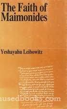The Faith of Maimonides