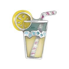 TK Lockets ~ LEMONADE DRINK CHARM