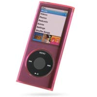 HD Accessory Crystal Acrylic Hard Case for 4th Generation iPod Nano 4G (Pink) (Crystal Nano 4g Case)