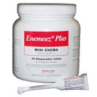 Enemeez Plus Mini Enema with Anesthetic (Replacement For Therevac Plus) - 30 Disposable Tubes