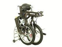 Bicicleta Plegable, Diseño de la Ruta 66: Amazon.es: Deportes y aire libre