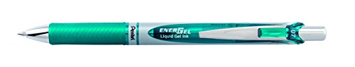 Pentel EnerGel Deluxe RTX Liquid Gel Ink Pen Set Kit, Pack of 3 with 4 Refills (Turquoise - 0.7mm) … Photo #3