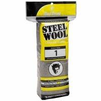Steel Wool Medium #1, Sold As 1 Package, 16 Each Per Package