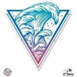 Surfer Sticker - Surfers Wave - 3