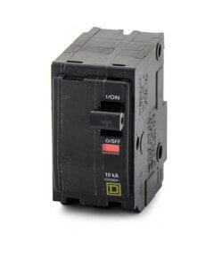 Circuit Breaker, 80A, 2P, 10Ka, 120/240Vac by Square D