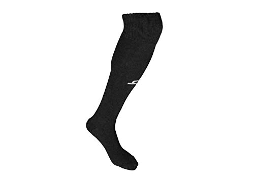 Heelium Bamboo Football Socks, Stockings for Men & Women, Knee High Length Superior Grip for Shin Guard, Anti Slip Blister Protection Anti Odour, Free Size UK 7-12 Available in Blue Black Red & White Price & Reviews