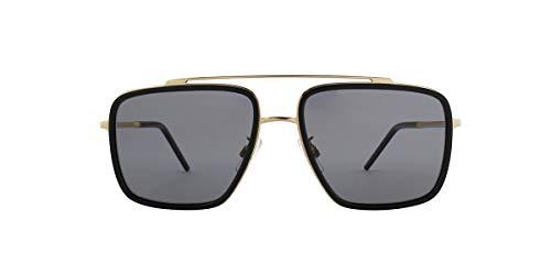 Dolce & Gabbana Men's DG2220 Gold/Black/Polarized Grey One Size