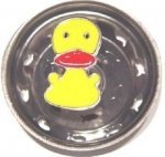 (Enamel Kitchen Strainer Lucky Duck )